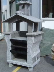Barbecue massif en granit