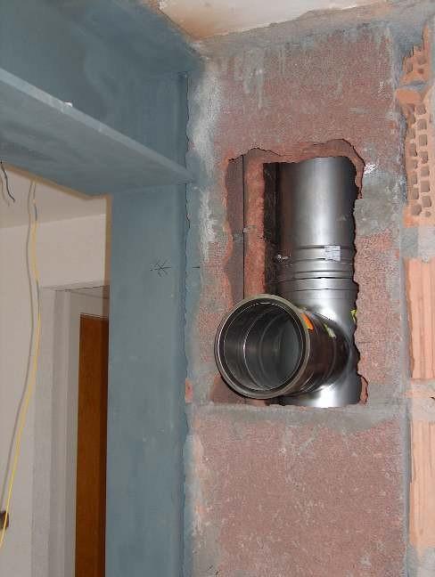 Tubage inox et isolation